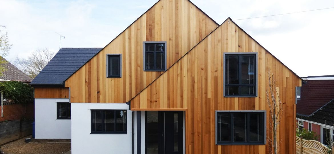 Extension External Finishes